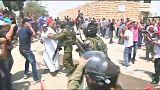 Soldados israelitas respondem com gás lacrimogéneo a protesto palestiniano