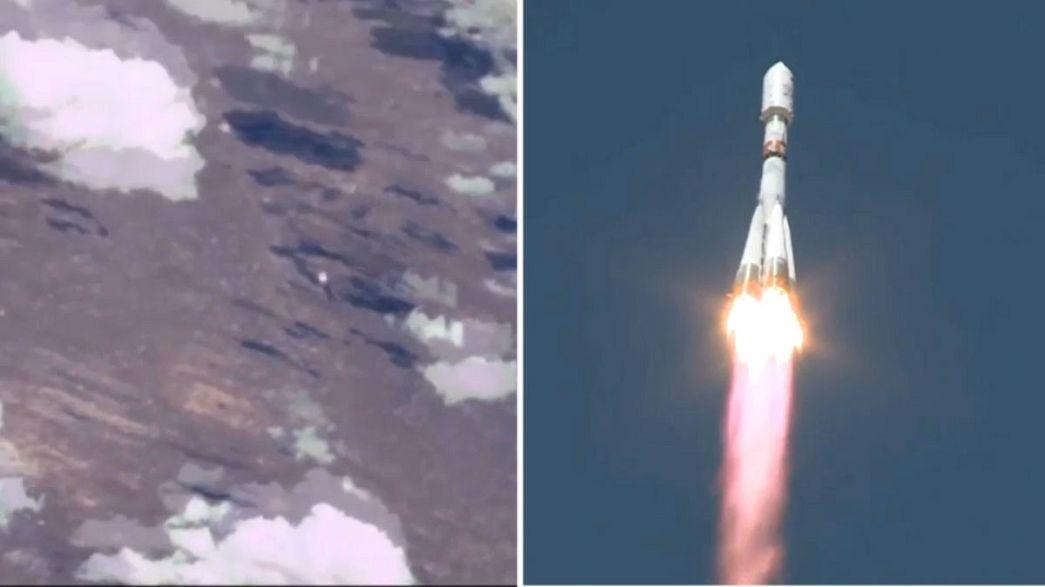 [Vidéo] Le lancement d'un Soyuz vu depuis l'Espace