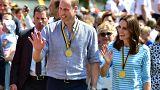 Kate und William: Rudern mit den Royals