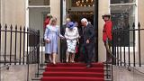 Out of touch? Governor's gaffe in helping Queen down steps