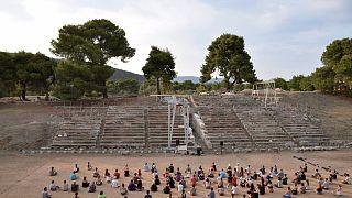 Λύκειο Επιδαύρου: Το θερινό σχολείο αρχαίου δράματος στέφθηκε με επιτυχία