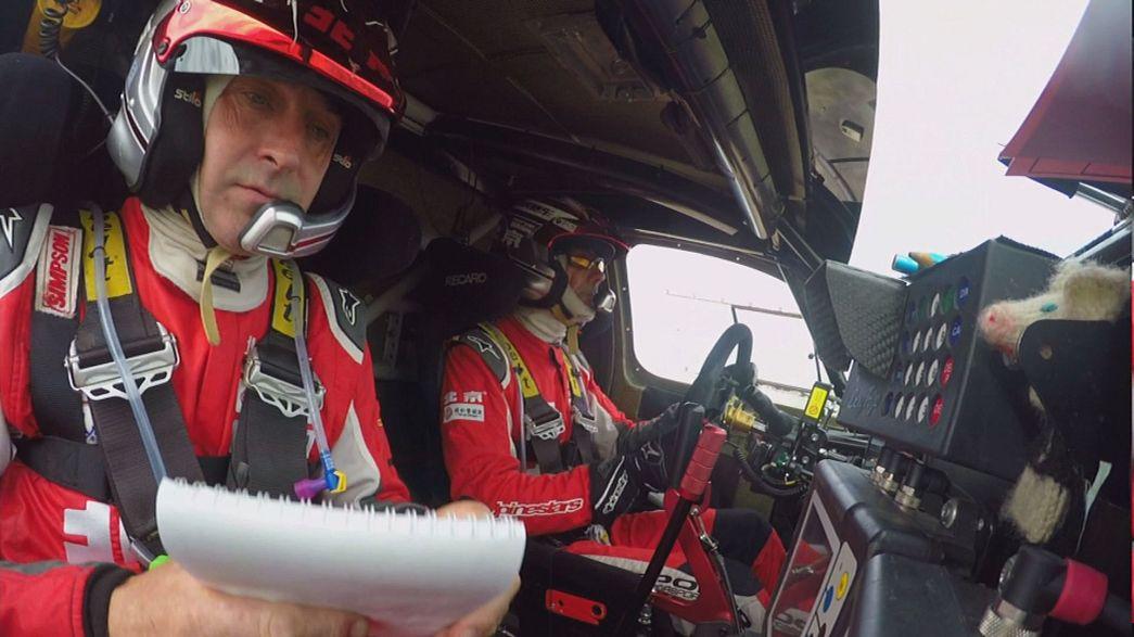 Christian Lavieille remporte la 12ème étape du Silk Way Rally