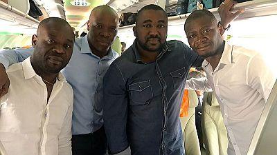 Legendary Ivorian music group Magic System holds mid-flight concert