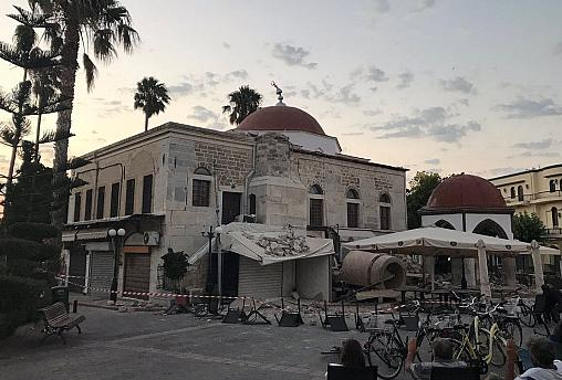 Magnitude 6.7 earthquake kills two on Greek Island of Kos