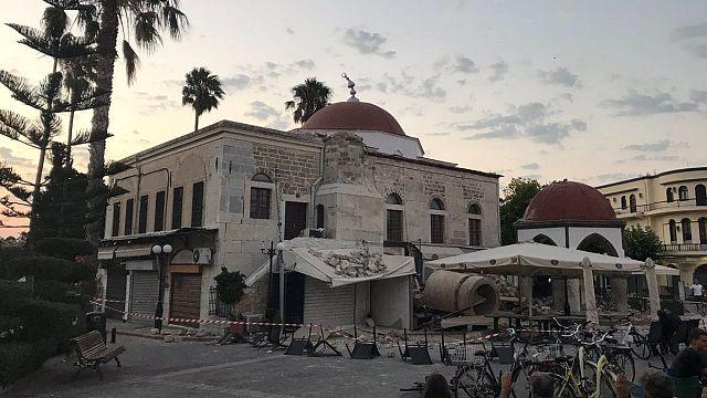 2 mortos na ilha grega de Kos após sismo na Turquia