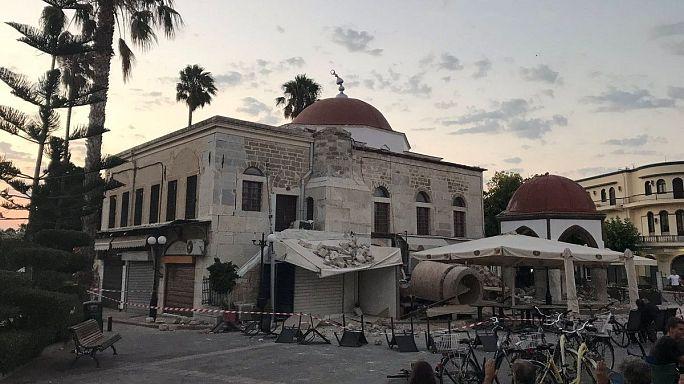 Terremoto 6.7: 2 morti e 200 feriti tra Kos e Bodrum