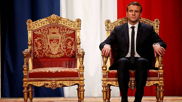 Macron has had a busy first two months on the world stage