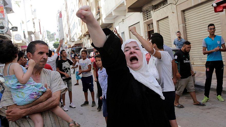 Polícia marroquina reprime manifestação em Alhucemas