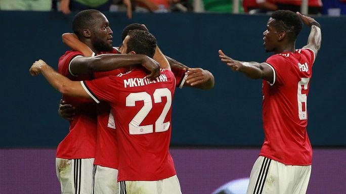 José Mourinho vence Pep Guardiola em jogo de preparação