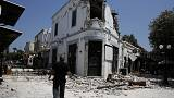 Two killed on Greek island in powerful earthquake