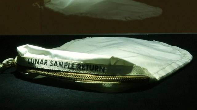 Neil Armstrong's 'space bag' sells for 1.5 million dollars