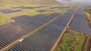 Le Chili inaugure une ferme photovoltaïque