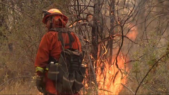Tutto il fuoco della California