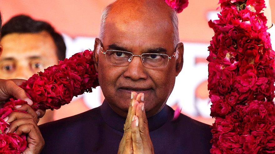 """Indiens neuer Präsident: """"unberührbar"""" an der Spitze"""