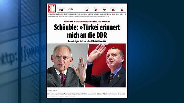 Германия-Турция: новый виток напряженности