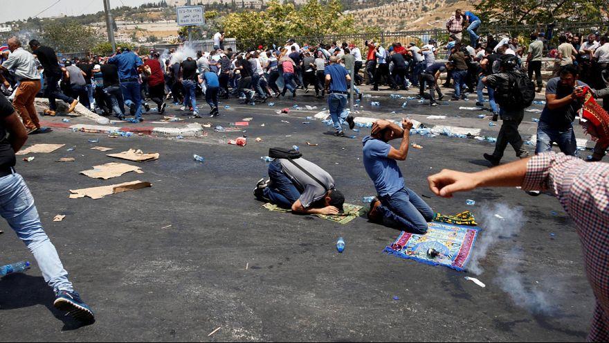 درگیری های مرگبار در بیتالمقدس در «جمعه خشم» فلسطینیان