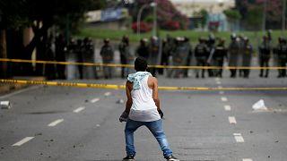 Венесуэльцы бастуют