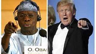 Ex-Nigerian leader Obasanjo mocks Americans for choosing Trump