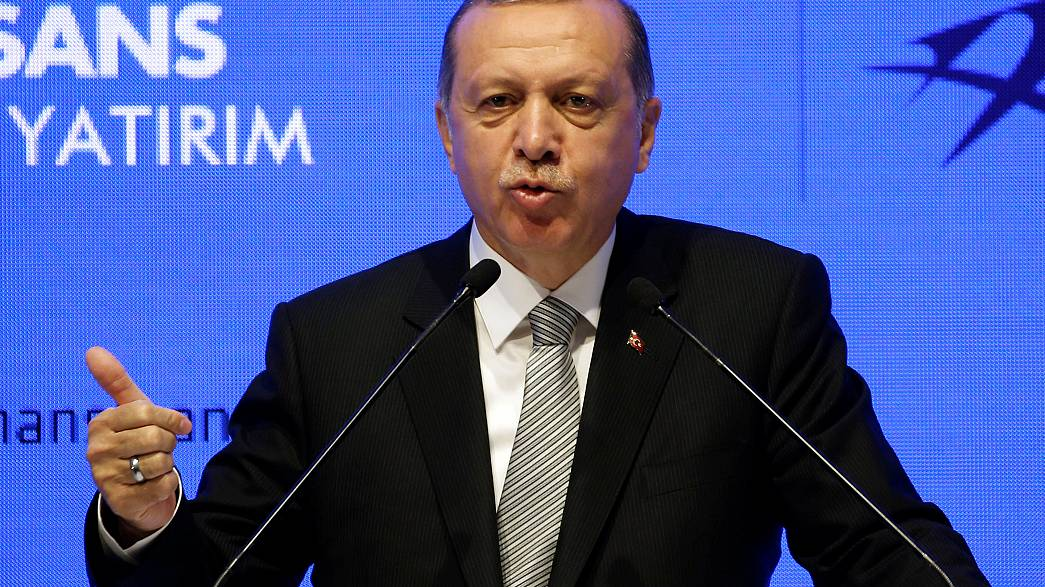 Erdogan attacks Germany over investment scare
