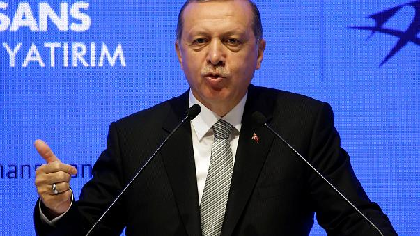 Erdoğan: Almanya'yı şiddetle kınıyorum