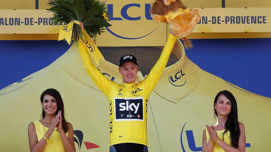 Fransa Bisiklet Turu: Chris Froome emin adımlarla şampiyonluğa gidiyor