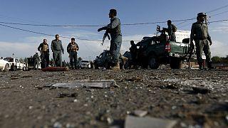 """کشته شدن ۱۲ پلیس افغان در حمله هوایی """"اشتباه"""" آمریکا"""