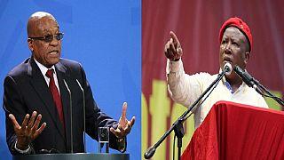 Malema reveals more than 60 ANC MP's will back president Zuma's no-confidence vote