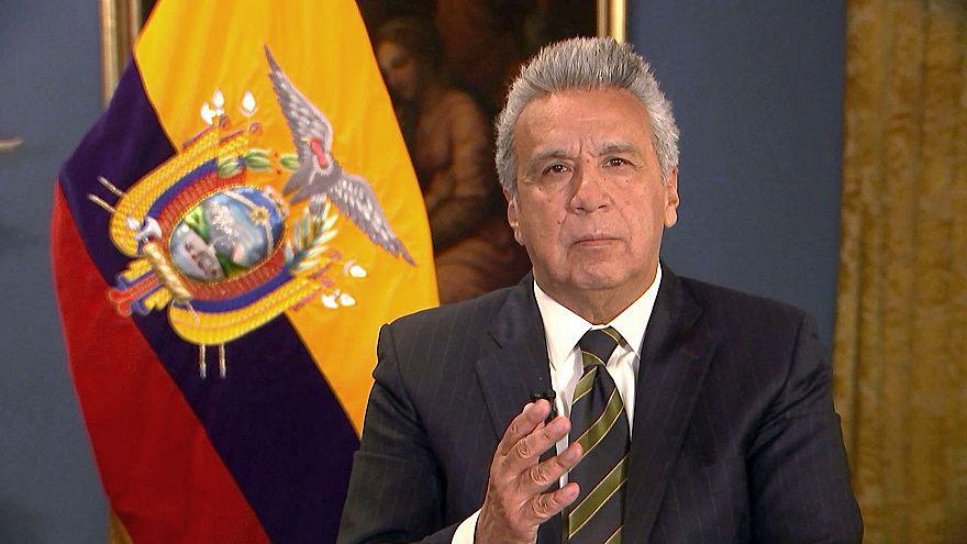 Image: Ecuadorian President Lenin Moreno