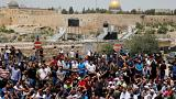 Six killed in violence following new Israeli security measures at Jerusalem's holiest site.