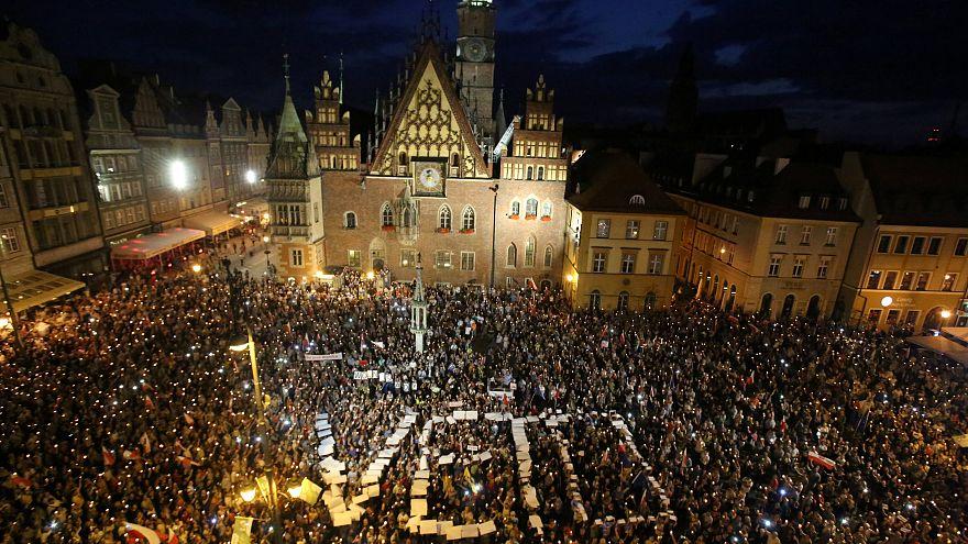 Thousands protest as Poland's Senate passes contested judiciary bill