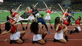 Usain Bolt runs 9.95 seconds to win 100m in Monaco