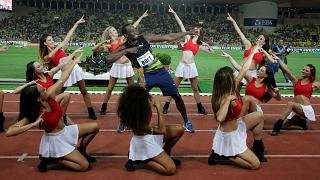 "Usain Bolt volta a ""voar"" 100 metros abaixo dos 10 segundos"