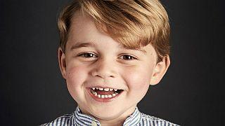 Prince George photograph marks fourth birthday