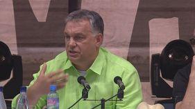 """Orbán, solidario con Polonia """"frente a la Inquisición europea"""""""