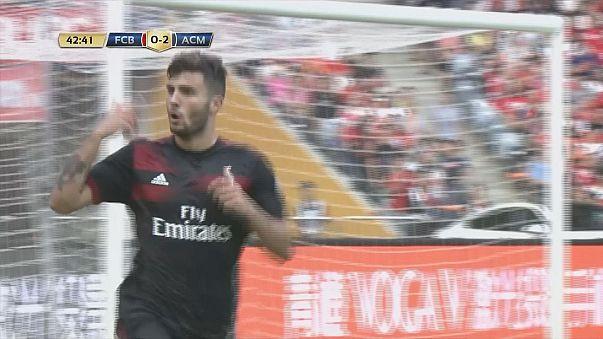 Cina: Super Milan batte il Bayern 4-0