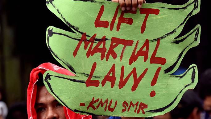 Filipinas prorroga la ley marcial en Mindanao hasta final de año