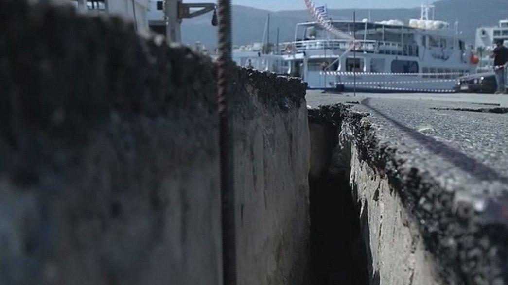 Après le séisme, l'île de Kos craint le départ des touristes