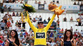 """""""Тур де Франс"""": победа за Фрумом"""