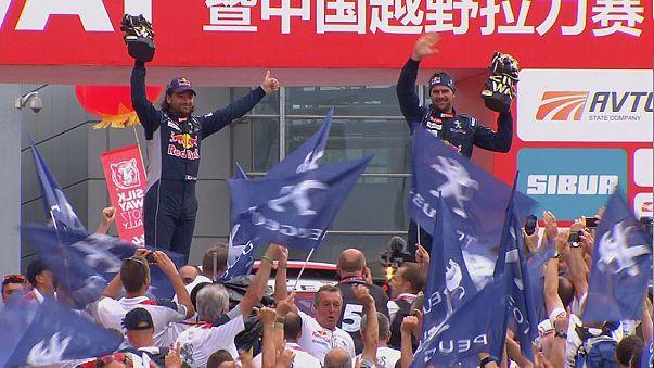Despres y Sotnikov celebran sus triunfos en el rally 'Silk Way'
