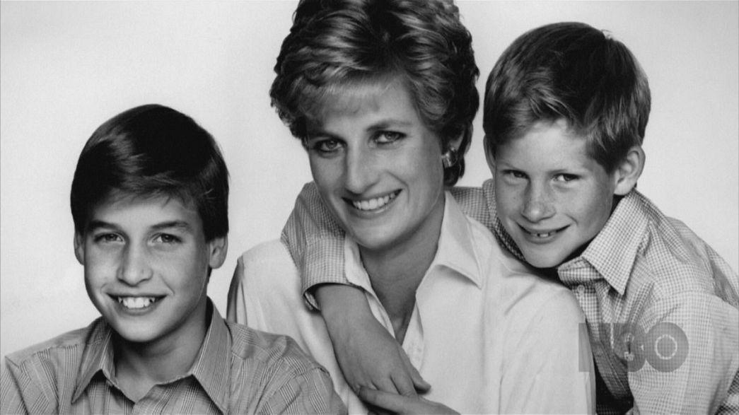 """William e Harry raccontano """"Diana, nostra madre"""""""
