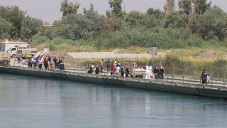 الموصل: جسر النصر الوسيلة الوحيدة لعبور نهر دجلة