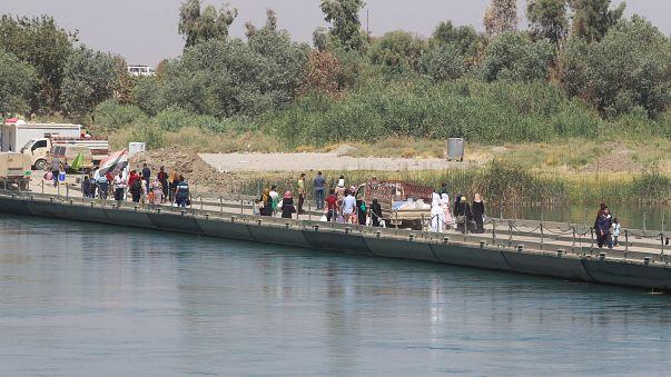 """Mossoul : un """"Pont de la Victoire"""" amer"""