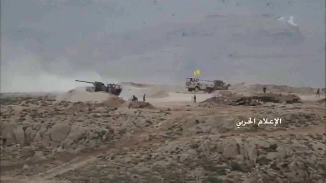 عرسال: تراجع حدة المعارك في يومها الثالث واستسلام العديد من مقاتلي النصرة