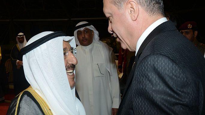 إردوغان يصل الكويت قادما من السعودية