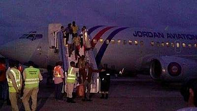 114 Somali prisonsers freed by Ethiopia arrive in Mogadishu