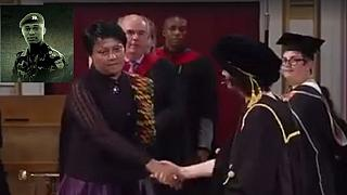 Mom of lynched Ghana soldier receives his posthumous award from U.K. varsity