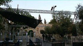 الاحتلال ينصب كاميرات عند باب الأسباط بالقدس