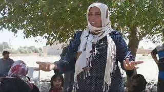 Freed from ISIL rule: Raqqa women burn their burqas