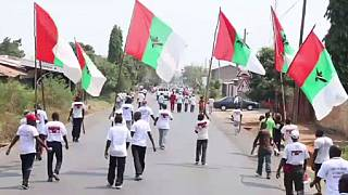 "Burundi's ruling party youth stage ""demonstration of strength"""