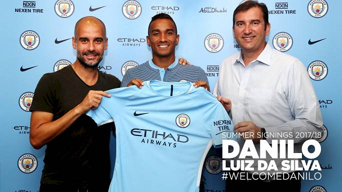 Manchester City confirma compra de Danilo ao Real Madrid